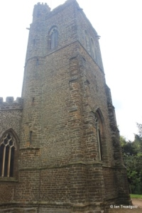 Northill - St Mary the Virgin. Tower from the north-west.