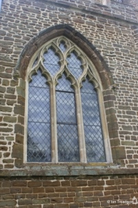 Northill - St Mary the Virgin. North aisle, western window