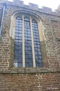Northill - St Mary the Virgin. North aisle, central window