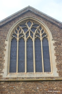 Northill - St Mary the Virgin. East window.