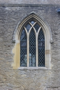 Oakley - St Mary. South aisle, south-west window