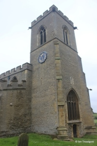 Oakley - St Mary. Tower from the north-west.