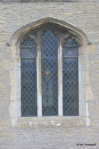 Oakley - St Mary. North aisle, centre window.