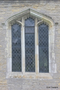 Oakley - St Mary. North aisle, eastern window.