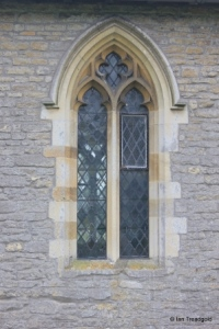 Oakley - St Mary. Chancel, north window.