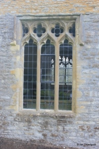 Pavenham - St Peter. North aisle, eastern window.