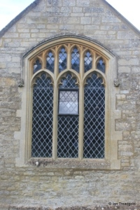 Pavenham - St Peter. North chapel, east window.