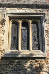 Old Warden - St Leonard. South aisle, south window.
