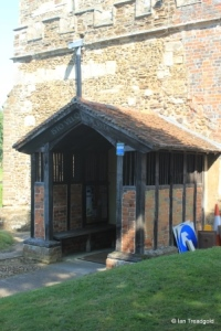 Old Warden - St Leonard. South porch.