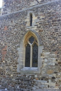 Old Warden - St Leonard. West window.