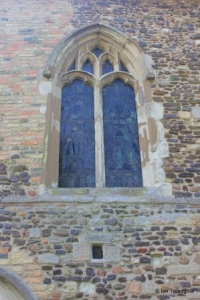 Old Warden - St Leonard. North-west window.
