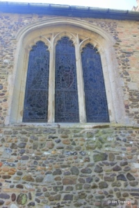Old Warden - St Leonard. North window.