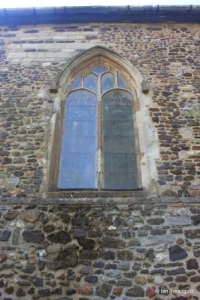 Old Warden - St Leonard. North-east window.