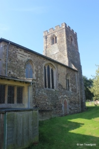 Old Warden - St Leonard. View from the north east.