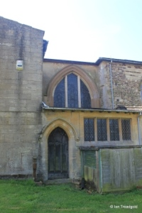 Old Warden - St Leonard. Organ chamber.