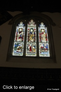 Old Warden - St Leonard. North window internal.