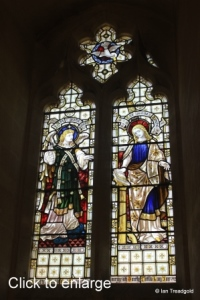 Old Warden - St Leonard. West window internal.