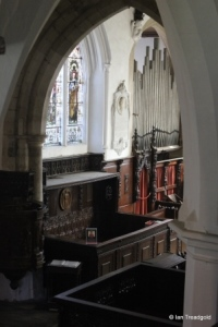 Old Warden - St Leonard. View from the south gallery