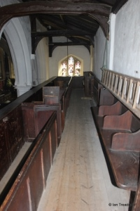 Old Warden - St Leonard. South gallery.