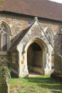 Potsgrove - St Mary. South porch.