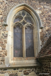 Potsgrove - St Mary. Nave, south-west window.