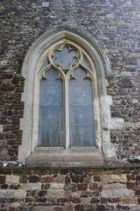 Potsgrove - St Mary. West window.
