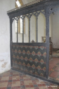 Potsgrove - St Mary. Rood screen.