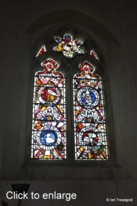 Potsgrove - St Mary. West window internal.