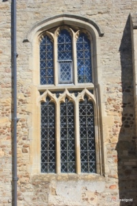 Pertenhall - St Peter. Nave, south central window.