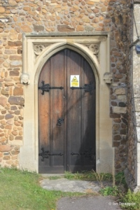 Potton - St Mary. South door.