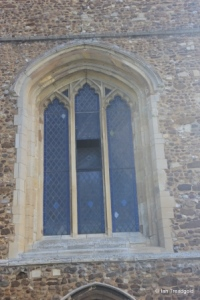 Potton - St Mary. West window.