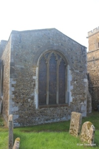 Potton - St Mary. North transept, north window.