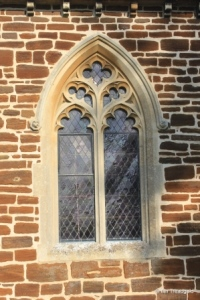 Pulloxhill - St James. South side, eastern window.