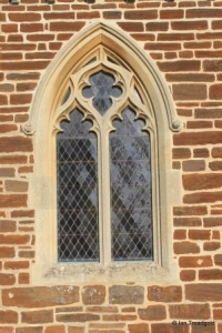 Pulloxhill - St James. South side, central window.