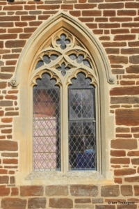 Pulloxhill - St James. South side, western window.