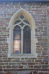 Pulloxhill - St James. North side, western window.