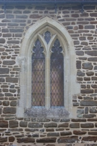 Pulloxhill - St James. Chancel, north window.