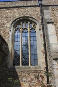 Renhold - All Saints. South side central window.