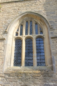 Renhold - All Saints. West window.