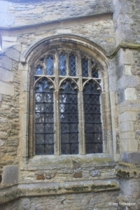 Renhold - All Saints. North aisle, west window.