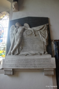 Renhold - All Saints. Polhill-Turner memorials.