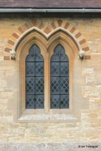 Ridgmont - All Saints. South aisle windows.