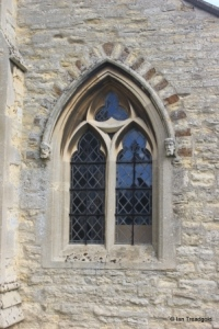 Ridgmont - All Saints. South aisle, west window.