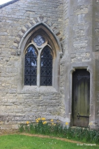 Ridgmont - All Saints. North aisle, west window.