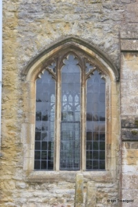 Riseley - All Saints. North aisle, western window.