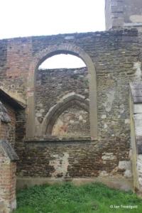 Old Ridgmont - All Saints. North aisle, western window.