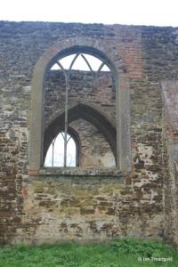 Old Ridgmont - All Saints. North aisle, eastern window.