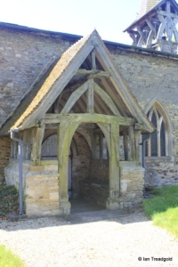 Salford - St Mary. North porch.