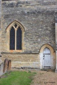 Sharnbrook - St Peter. Chancel, western window.