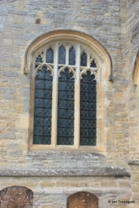 Sharnbrook - St Peter. South aisle, east window.